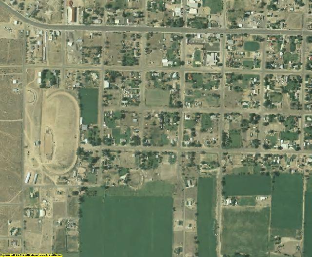 Garfield County, UT aerial photography detail