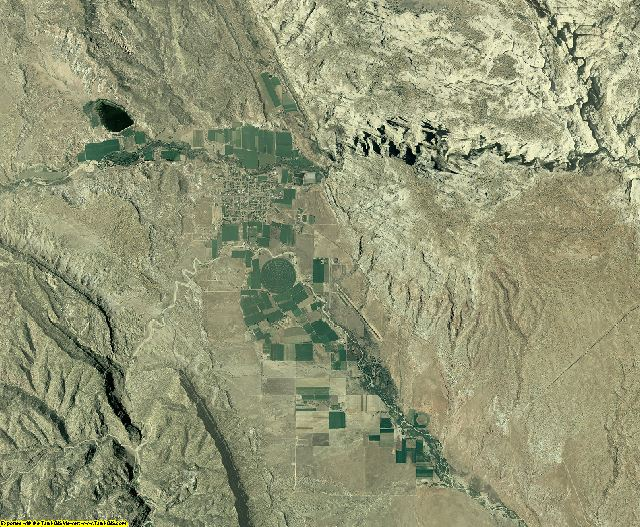 Garfield County, Utah aerial photography