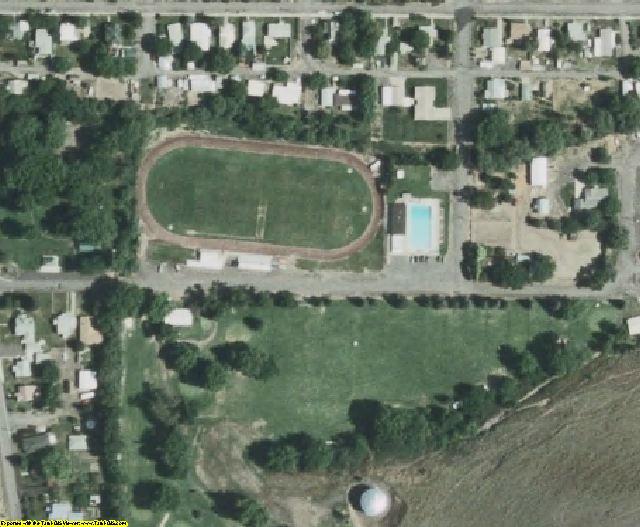 Garfield County, WA aerial photography detail