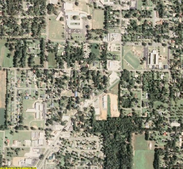 George County, MS aerial photography detail