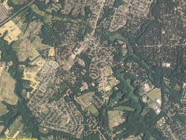 Gloucester County, New Jersey aerial photography