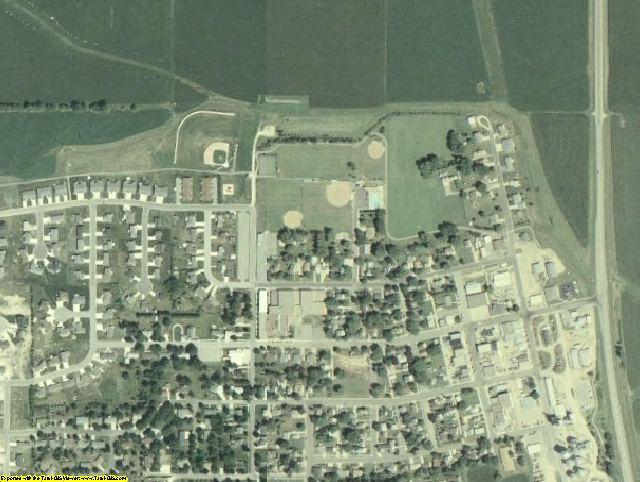 Goodhue County, MN aerial photography detail
