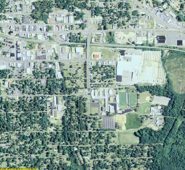 Grady County, GA aerial photography detail