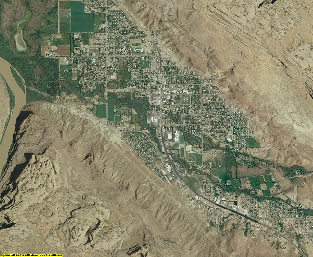 Grand County, Utah aerial photography