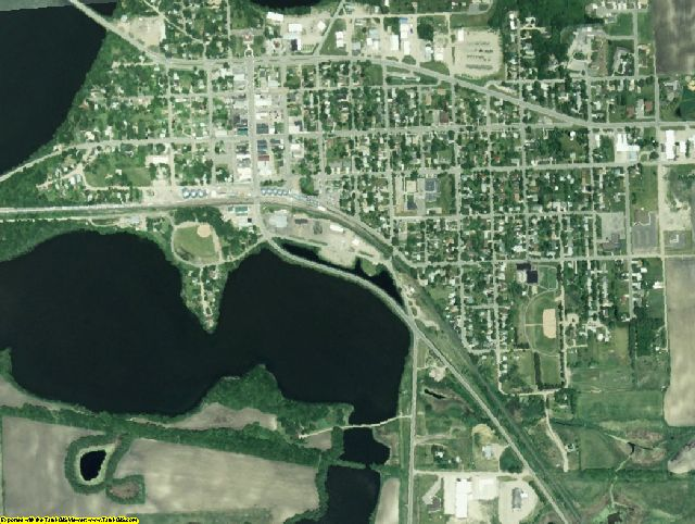 Grant County, MN aerial photography detail