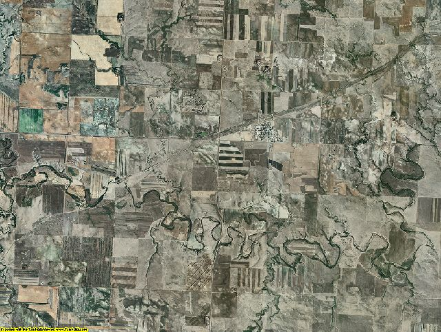 Grant County, North Dakota aerial photography