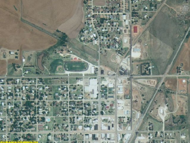Grant County, OK aerial photography detail