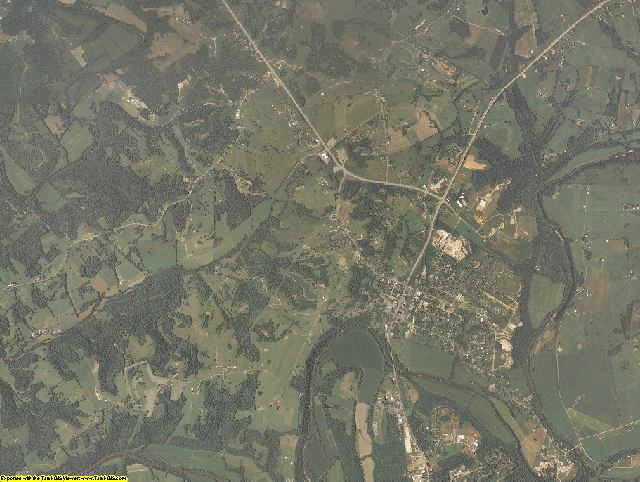 Green County, Kentucky aerial photography