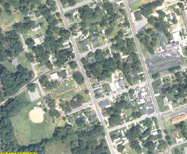 Greene County, NC aerial photography detail