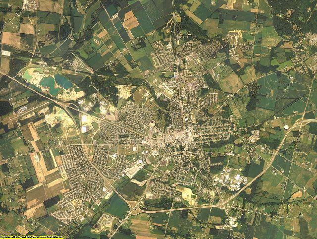Greene County, Ohio aerial photography