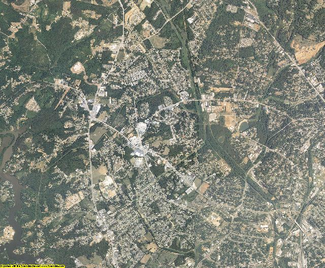 Greenville County, South Carolina aerial photography