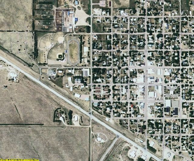 Gregory County, SD aerial photography detail