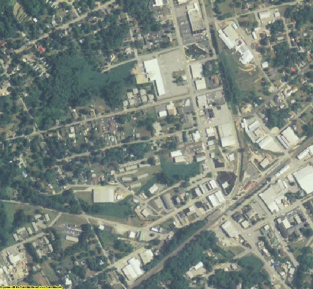 Habersham County, GA aerial photography detail