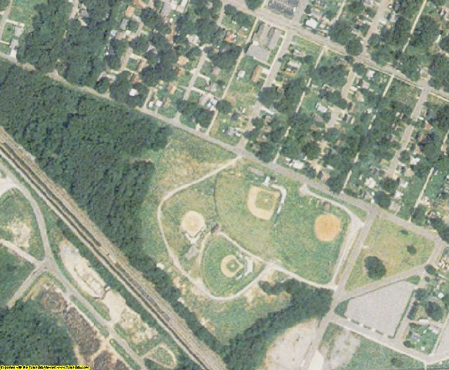 Halifax County, NC aerial photography detail