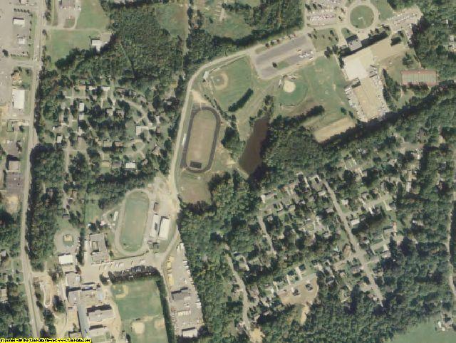Halifax County, VA aerial photography detail