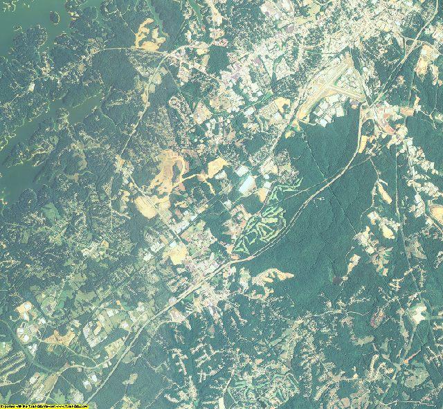 Hall County, Georgia aerial photography