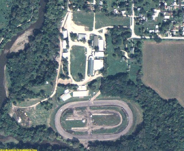 Hamilton County, IA aerial photography detail