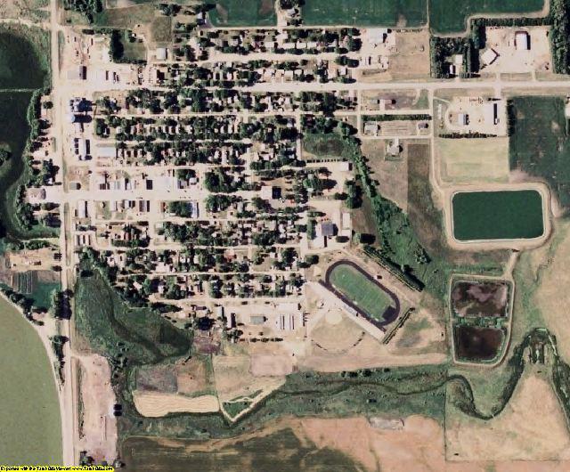 Hamlin County, SD aerial photography detail