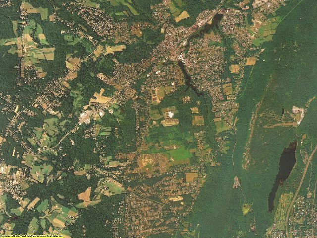Hampshire County, Massachusetts aerial photography
