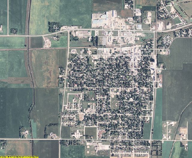 Hancock County, Iowa aerial photography