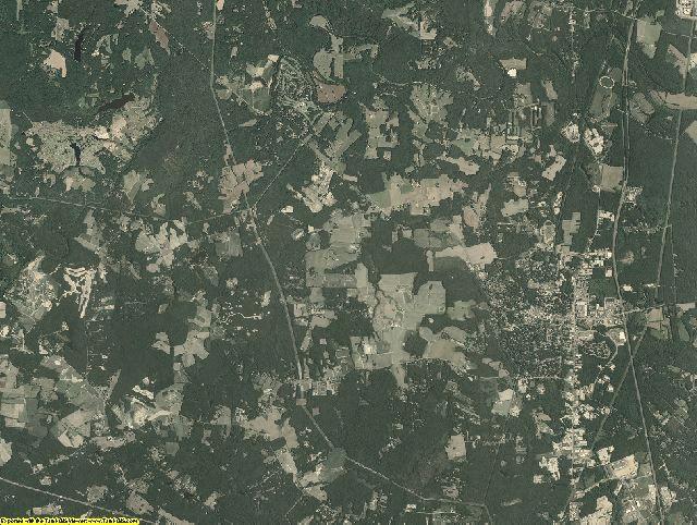 Hanover County, Virginia aerial photography