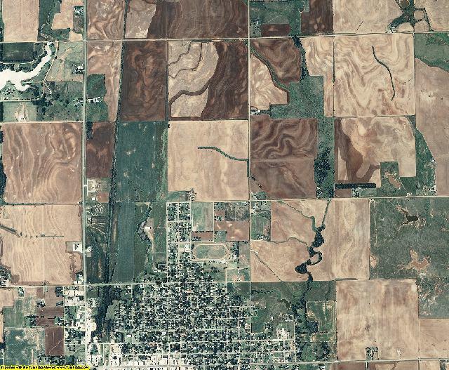 Harper County, Kansas aerial photography