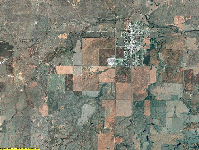 Harper County, Oklahoma aerial photography