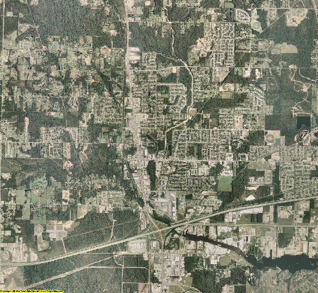 Harrison County, Mississippi aerial photography