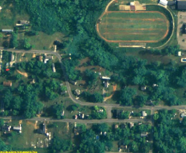 Henry County, AL aerial photography detail