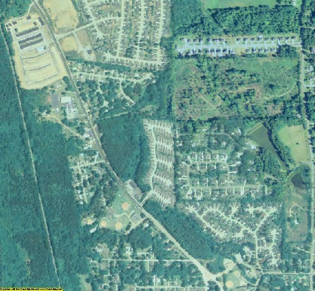 Henry County, GA aerial photography detail