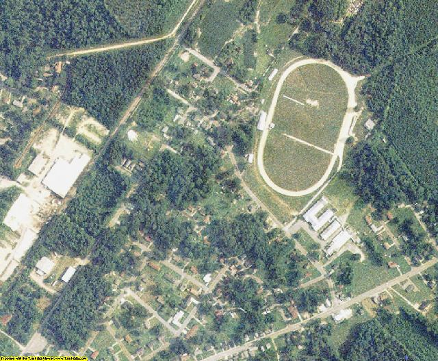 Hertford County, NC aerial photography detail