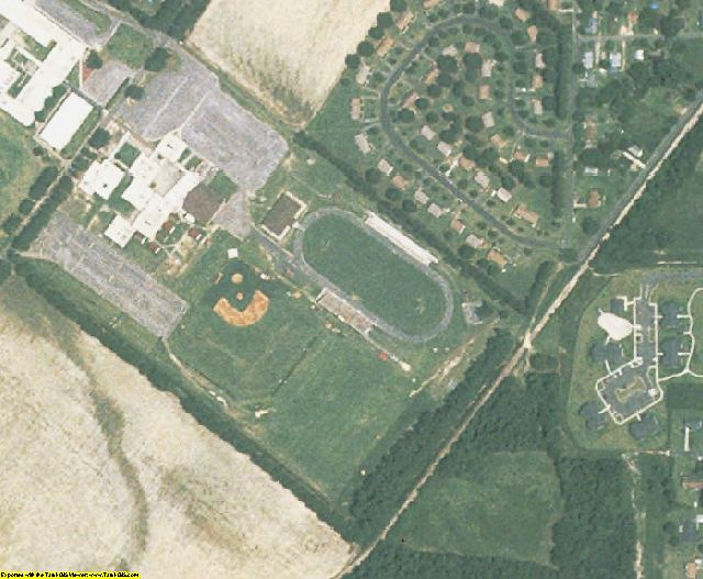 Hoke County, NC aerial photography detail