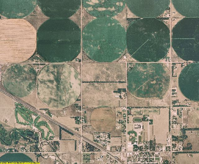 Holt County, Nebraska aerial photography