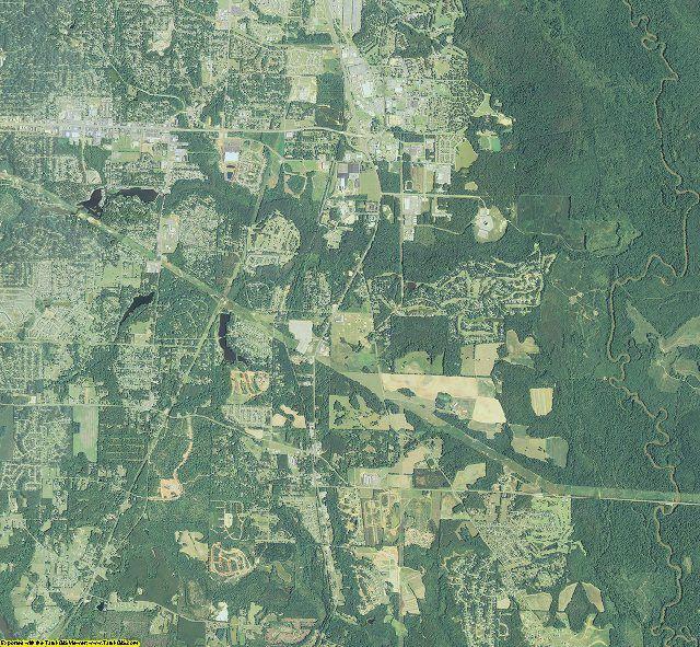 Houston County, Georgia aerial photography