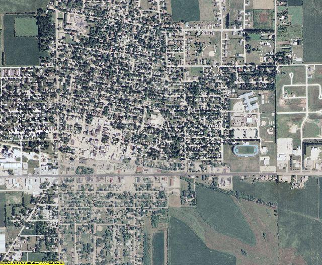 Howard County, Iowa aerial photography
