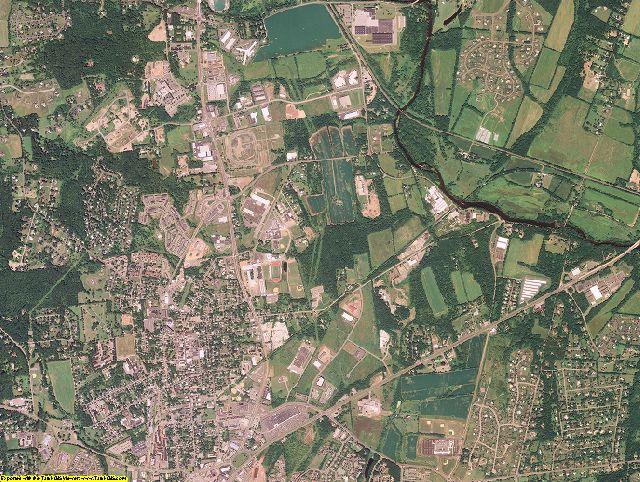 Hunterdon County, New Jersey aerial photography
