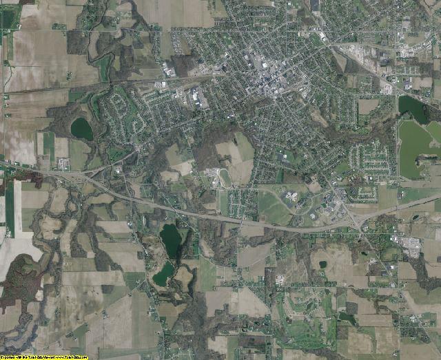 Huron County, Ohio aerial photography