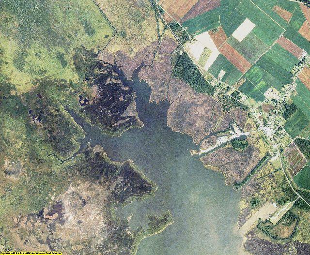 Hyde County, North Carolina aerial photography