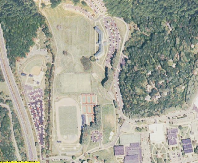 Jackson County, NC aerial photography detail