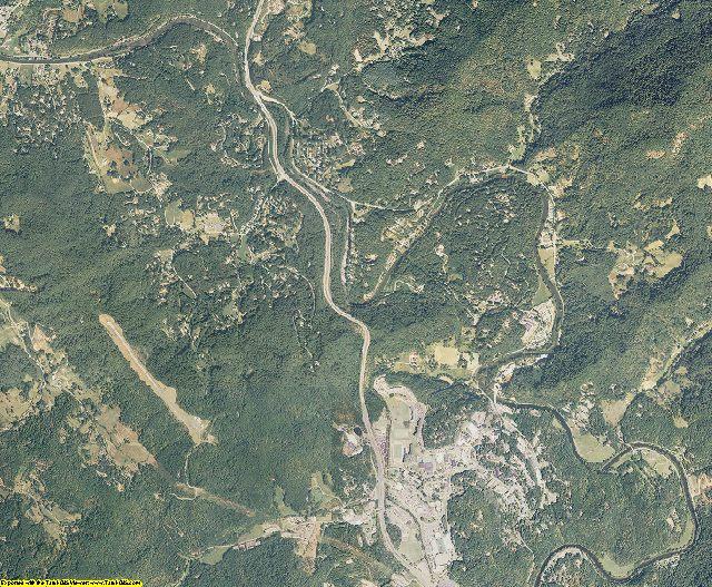Jackson County, North Carolina aerial photography