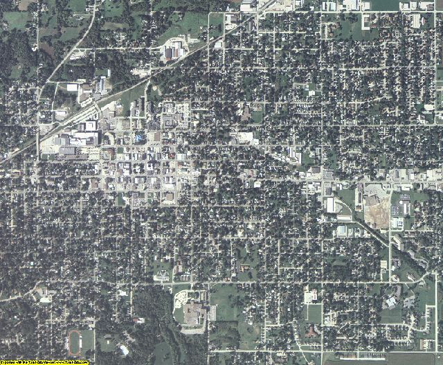Jasper County, Iowa aerial photography