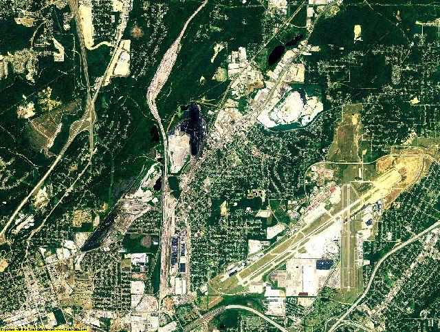 Jefferson County, Alabama aerial photography