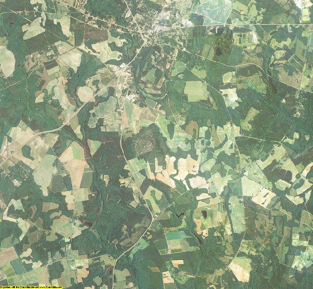 Jefferson County, Georgia aerial photography