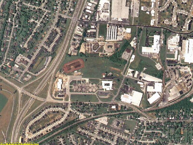 Jessamine County, KY aerial photography detail