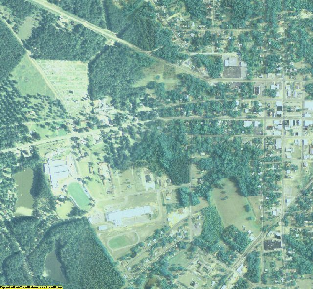 Johnson County, GA aerial photography detail