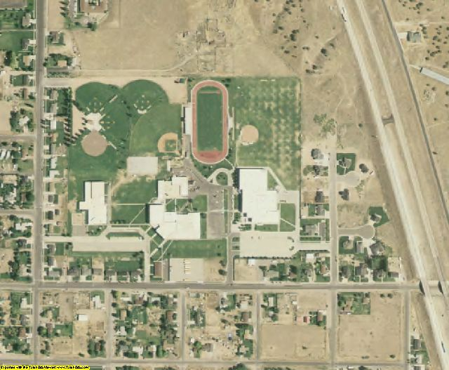 Juab County, UT aerial photography detail