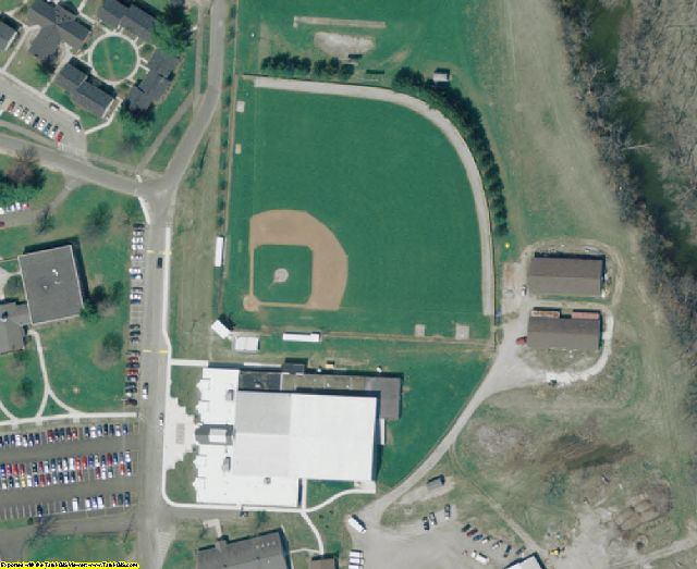 Knox County, OH aerial photography detail