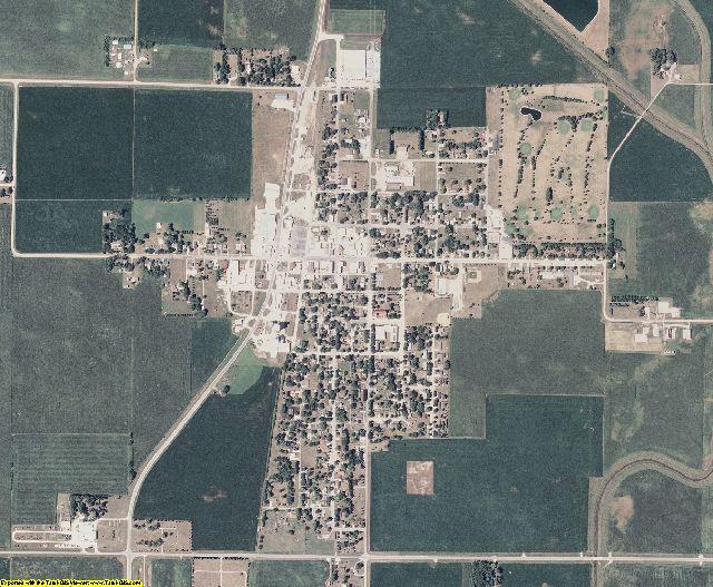 Kossuth County, Iowa aerial photography