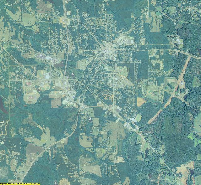 Lamar County, Georgia aerial photography