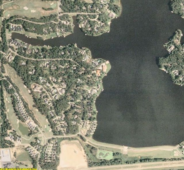 Lamar County, MS aerial photography detail